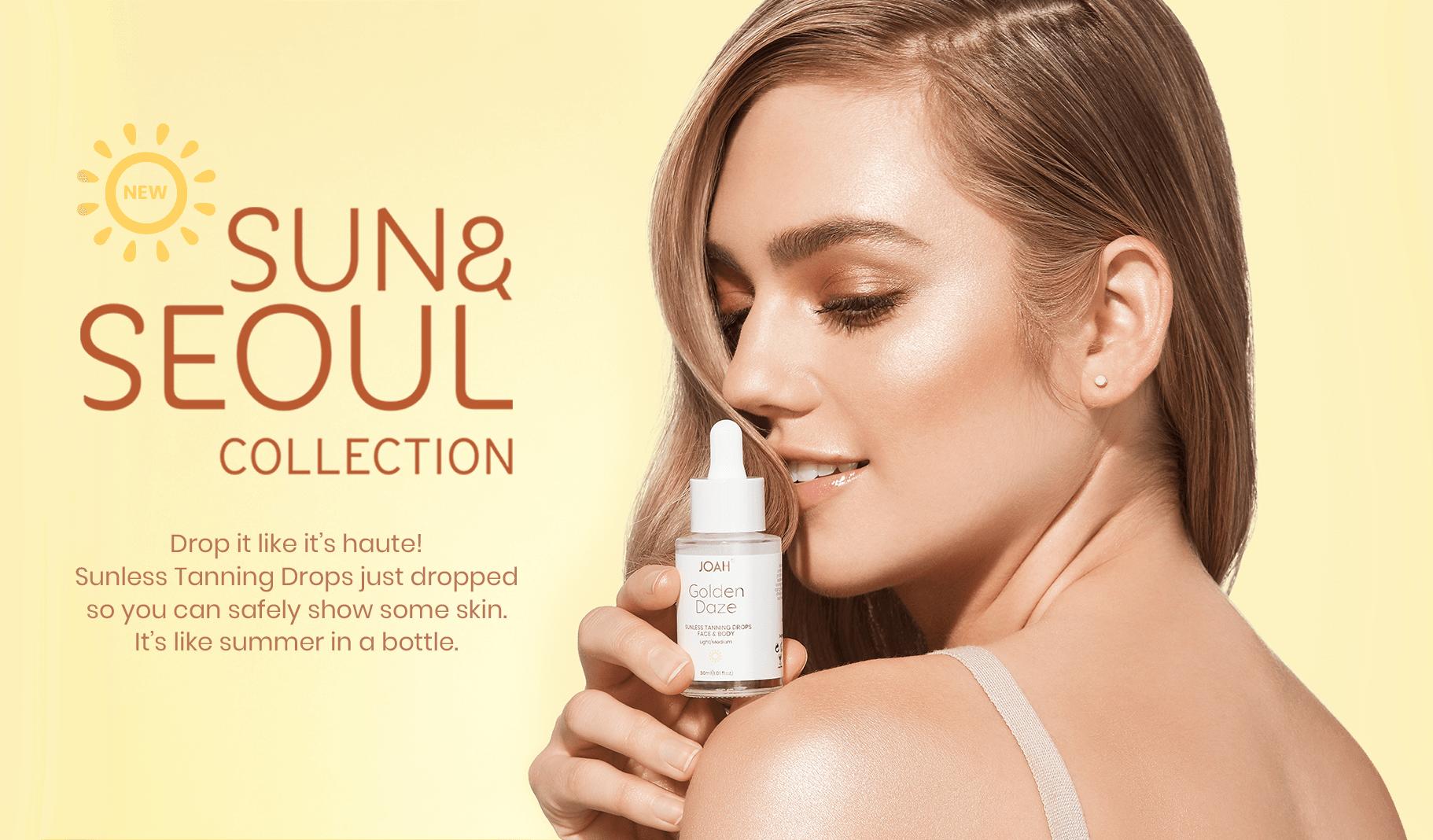 JOAH Beauty Sun & Seoul Self Tanning Drops